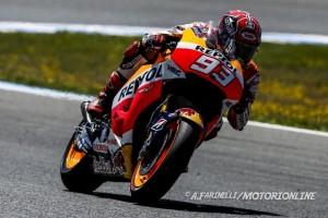 """MotoGP Jerez: Marc Marquez """"Ho cercato di restare incollato a Jorge ma il dolore mi ha rallentato"""""""