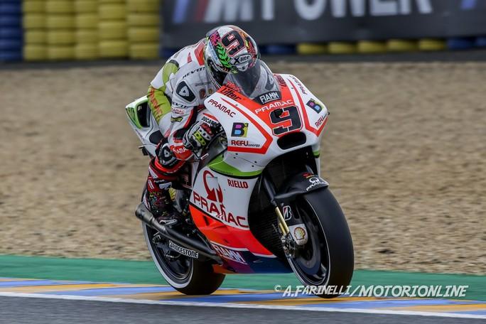 """MotoGP Le Mans: Danilo Petrucci, """"Sono molto soddisfatto, domani l'obiettivo è la Top Ten"""""""
