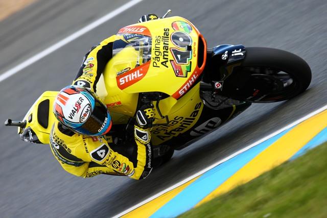 Moto2 Le Mans, Qualifiche: Pole position a Rins che precede Lowes e Zarcò, più indietro gli italiani