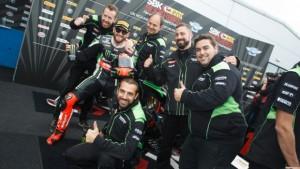 Superbike:Le straordinarie sei vittorie di fila di Sykes a Donington
