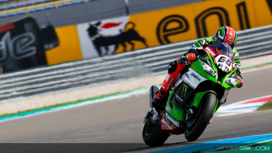 Superbike: Sykes è il più veloce nelle seconde libere a Donington