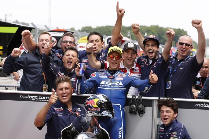Moto3 Assen: di nuovo pole position per un'eccezionale Bastianini, Locatelli 14°