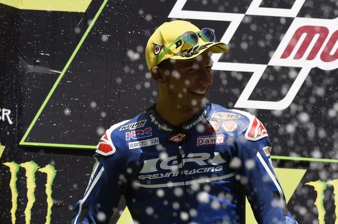 """Moto3 Barcellona, Gp: Bastianini ottimo 2°, """"Avrei voluto provare ad attaccare Kent all'ultima curva"""", Locatelli a punti"""