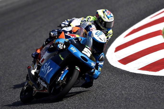 Moto3 Barcellona, Qualifiche: Fenati ostacolato dal traffico è solo 13°, Migno 21°