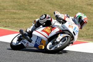 Moto3 Barcellona, Gp: gara in rimonta per Ferrari 21°, Manzi cade e finisce 27°
