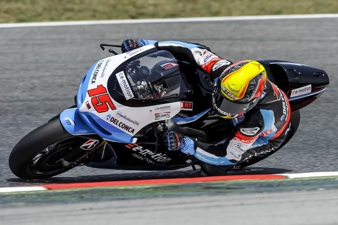"""MotoGP Barcellona: Alex de Angelis, """"Domani mi aspetto un altro step"""""""