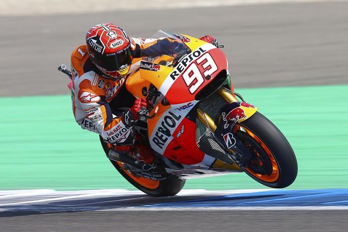 MotoGP Assen, Warm Up: Dominio di Marquez, Rossi e Lorenzo in seconda e quarta posizione