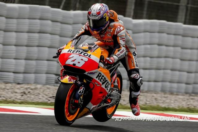 """MotoGP Barcellona: Dani Pedrosa """"Felice ed emozionato per il podio, ma le Yamaha sono lontane"""""""