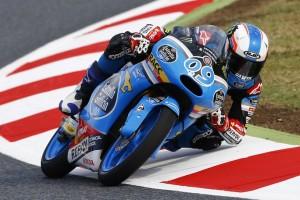 Moto3 Barcellona, Warm Up: Navarro in testa, bene Antonelli