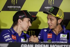 """MotoGP: Valentino Rossi, """"Max Biaggi torna in Superbike? Farò il tifo per lui!"""""""