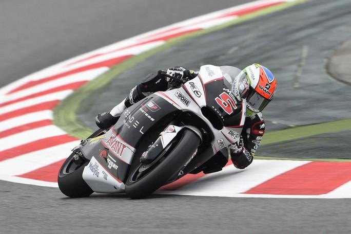 Moto2 Barcellona, Warm Up: Zarco davanti a Lowes e Folger