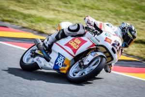Moto3 Sachsenring: difficoltà per Manzi 29° e per Ferrari 31°
