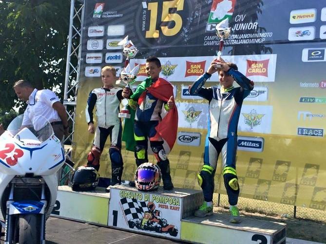 CIV: ecco i campioni di domani, Margarito domina e conquista il tricolore PreMiniGp