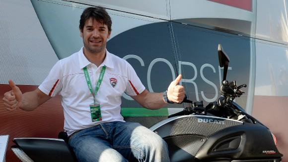 Superbike: Conclusi i test di Checa al Mugello per la Ducati