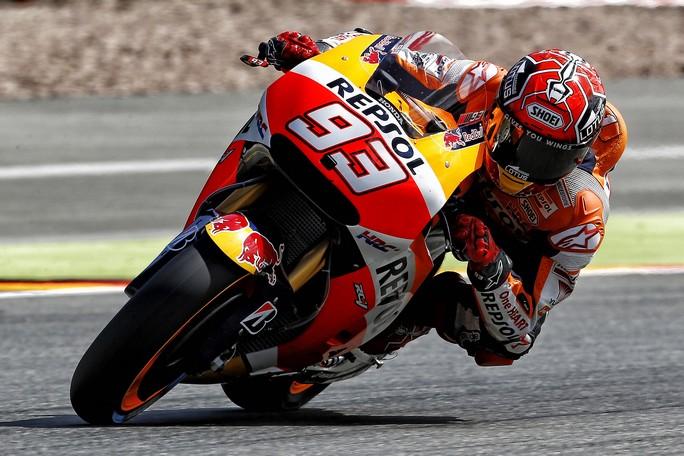 MotoGP Sachsenring, FP4: Dominio Honda, Marquez davanti a Pedrosa e Redding, Rossi è quarto