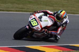 Moto2 Sachsenring: Primo successo in carriera per Simeon, Morbidelli cade e perde il podio