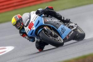 MotoGP Silverstone: Alex De Angelis porta a punti il Team e-motion Iodaracing