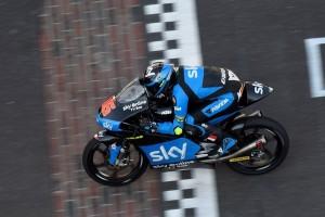 Moto3 Indianapolis: brutta caduta per Fenati illeso, Migno acquista confidenza