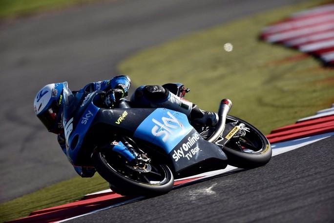 Moto3 Silverstone: buone qualifiche per Fenati 8° e Migno 17°