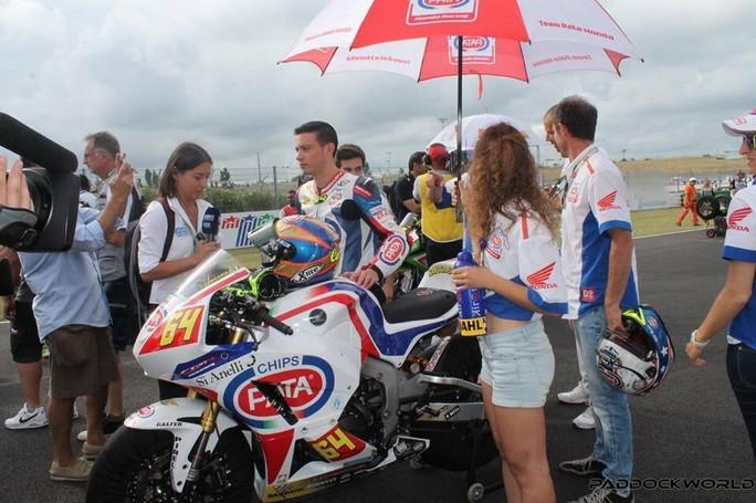 Moto2: Federico Caricasulo al posto dell'infortunato Franco Morbidelli
