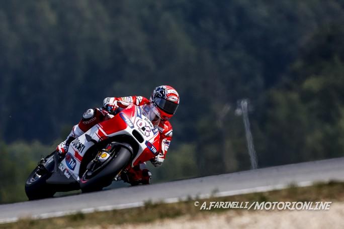 """MotoGP Brno: Andrea Dovizioso, """"Le caratteristiche della pista ci hanno avvicinato ai primi"""""""