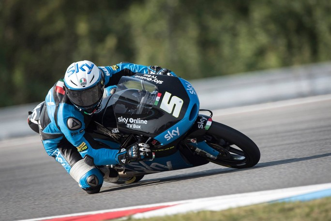 Moto3 Silverstone, Prove Libere 2: Italiani grandi protagonisti, Fenati davanti ad Antonelli