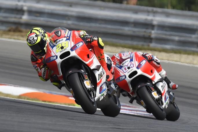"""MotoGP Brno: Andrea Iannone, """"Ho fatto il massimo, peccato per il problema che mi ha rallentato"""""""