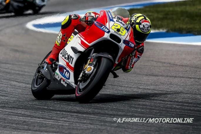 """MotoGP Indianapolis: Andrea Iannone, """"Abbiamo portato a casa il massimo che si poteva ottenere"""""""
