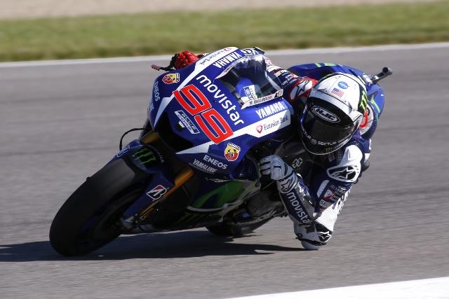 """MotoGP Indianapolis: Jorge Lorenzo """"Sono davvero felice, ottimo feeling anche con le dure"""""""