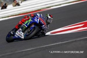 MotoGP Silverstone, Prove Libere 3: Lorenzo detta il ritmo, bene Dovizioso, Rossi è 7°