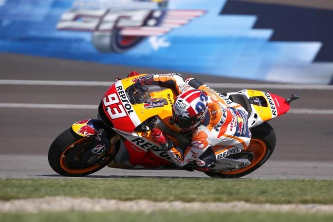 "MotoGP Indianapolis: Marc Marquez, ""E' andata abbastanza bene"""