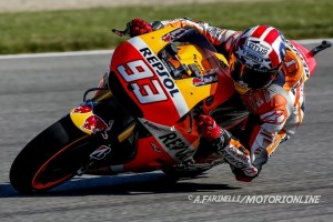 MotoGP Brno, Prove Libere 2: Raffica di cadute tra i big, Marquez fa suo il miglior tempo