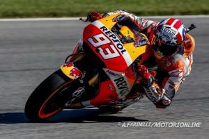 MotoGP Indianapolis, Prove Libere 3: Marquez al comando, bene Iannone, Rossi 9°, Dovizioso in Q1