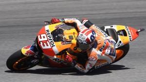 MotoGP Indianapolis: Marquez è il più veloce delle FP4, Rossi 4° davanti a Iannone