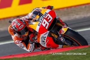 MotoGP Silverstone, Qualifiche: Pole position per Marc Marquez, Rossi è quarto