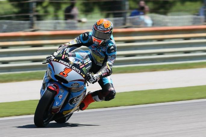 Moto2 Indianapolis Warm Up: Rabat è il più veloce, Morbidelli è decimo