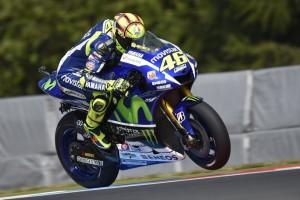 """MotoGP Brno: Valentino Rossi, """"Asfalto scivoloso e al limite"""""""