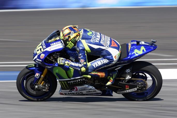 """MotoGP Indianapolis: Valentino Rossi, """"E' stata una giornata molto difficile"""""""