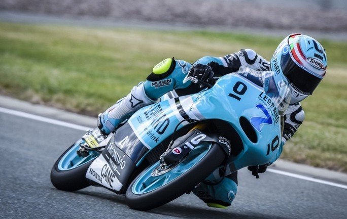 Moto3 Indianapolis, Prove Libere 2: Vazquez al Top, Antonelli è 3°, brutta caduta per Fenati
