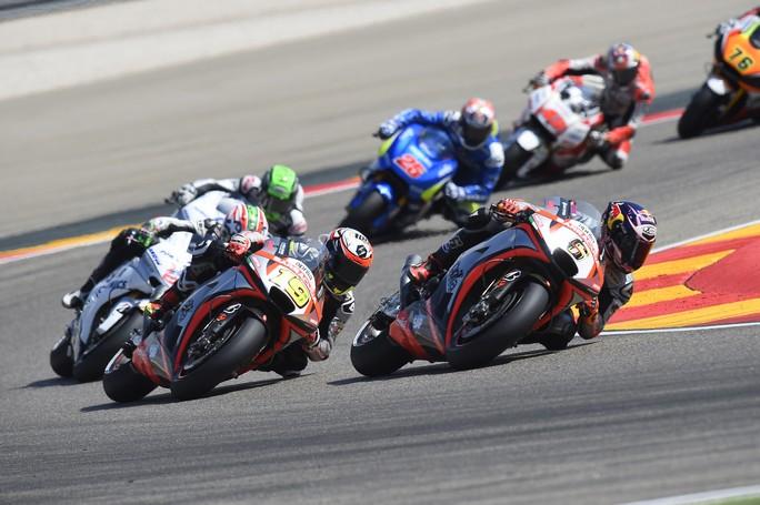 MotoGP Aragon: Bautista 13° ancora a punti, Bradl 18°