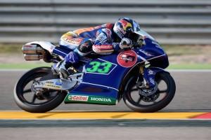 Moto3 Aragon, Qualifiche: Pole position per Enea Bastianini