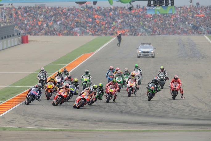 "MotoGP: Bridgestone pronta alla ""sfida"" di Aragon"