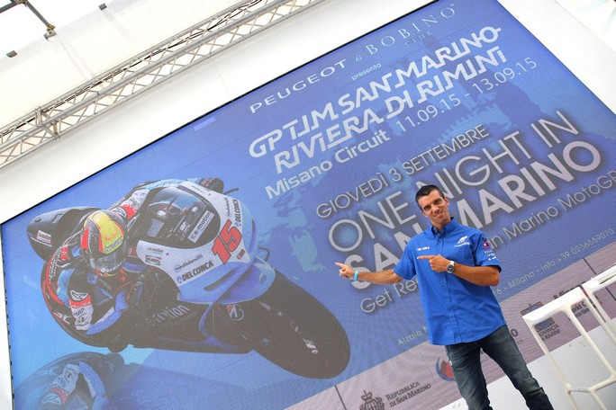 MotoGP: Iodaracing e Alex de Angelis protagonisti a Expo 2015