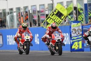 MotoGP: Iannone e Dovizioso parlano alla vigilia di Aragon