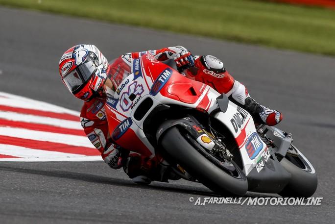 """MotoGP: Andrea Dovizioso, """"Arriviamo a Misano fiduciosi dopo il risultato di Silverstone"""""""