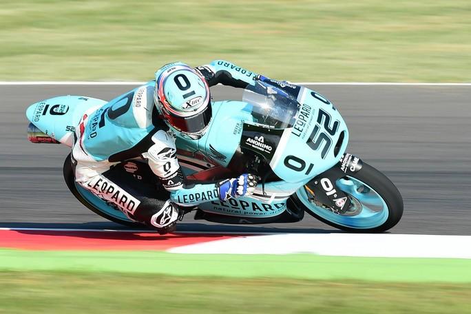 Moto3 Aragon, Warm Up: Kent al Top, Bastianini è quarto