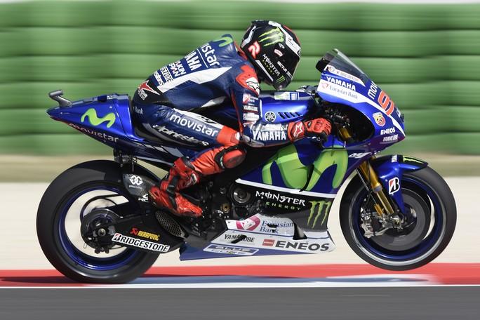"""MotoGP Misano: Jorge Lorenzo, """"Il nuovo asfalto aiuta il mio stile di guida"""""""