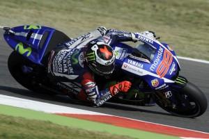 MotoGP Misano, Prove Libere 3: Lorenzo in testa, Rossi è 3°