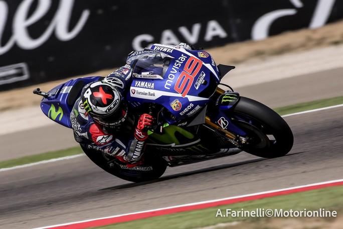 MotoGP Aragon: Lorenzo domina, cade Marquez, Pedrosa batte Rossi