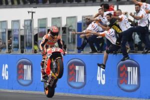 """MotoGP Misano: Marc Marquez, """"Da qui alla fine dell'anno l'obiettivo è vincere tutte le gare"""""""